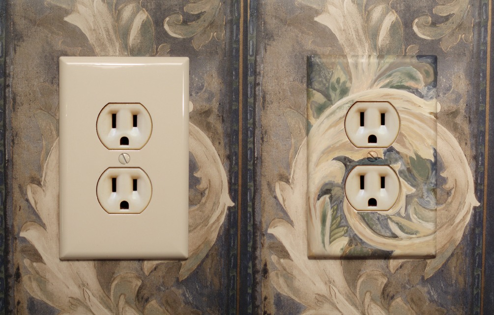 Paintable Switch Plates And Sockets